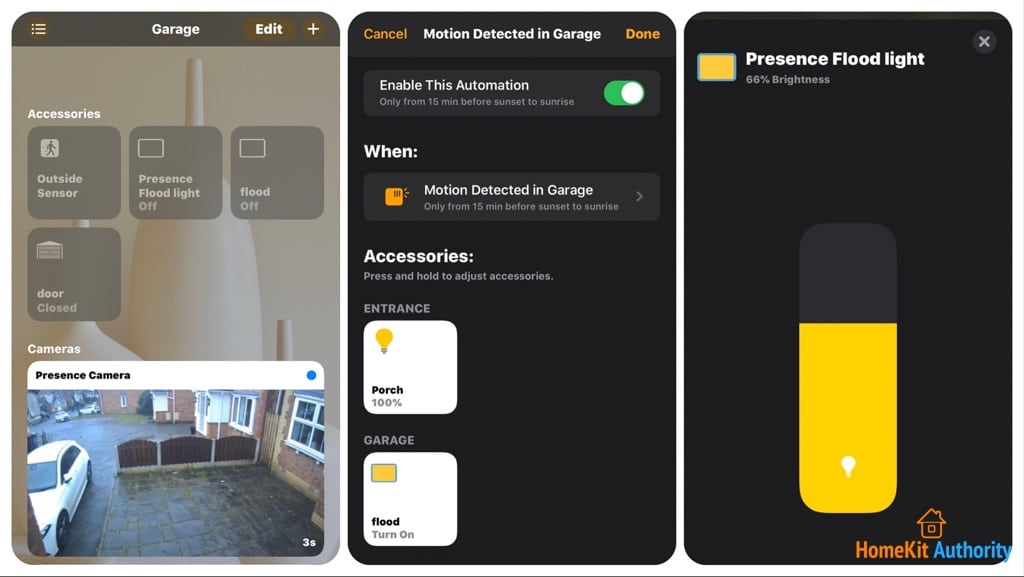 HomeKit on Netatmo Presence