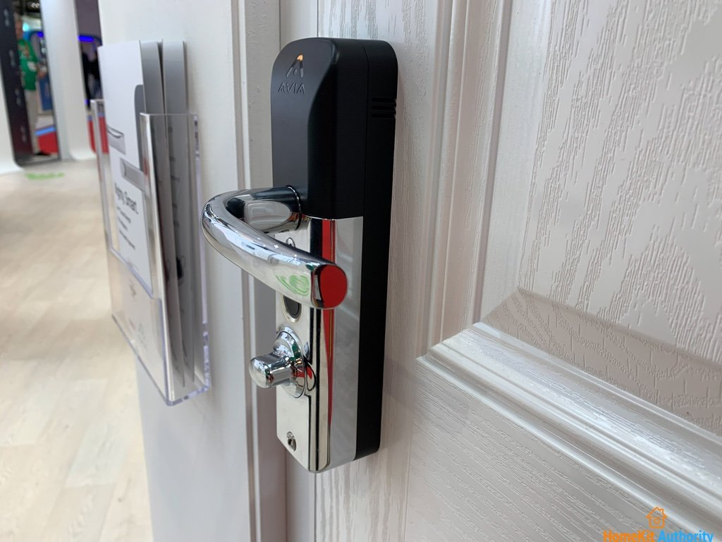 Side view of the smart lock