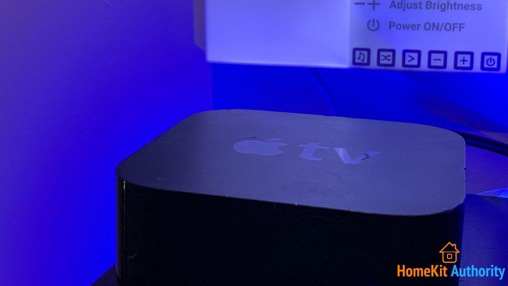 Nanoleaf Canvas Apple TV with HomeKit