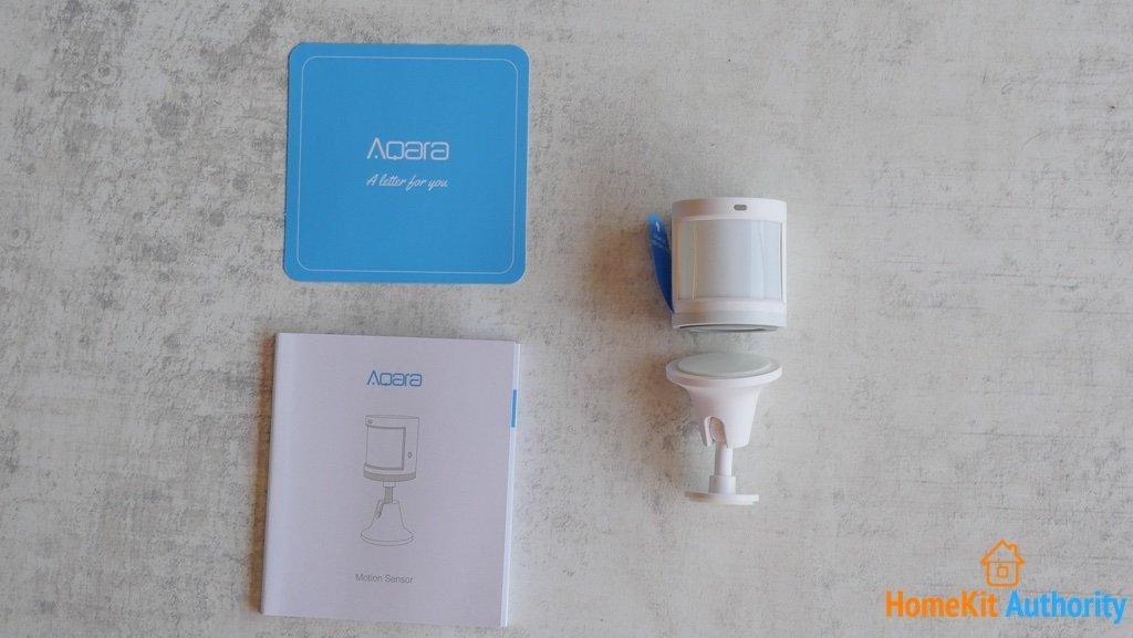 Aqara Motion Sensor contents