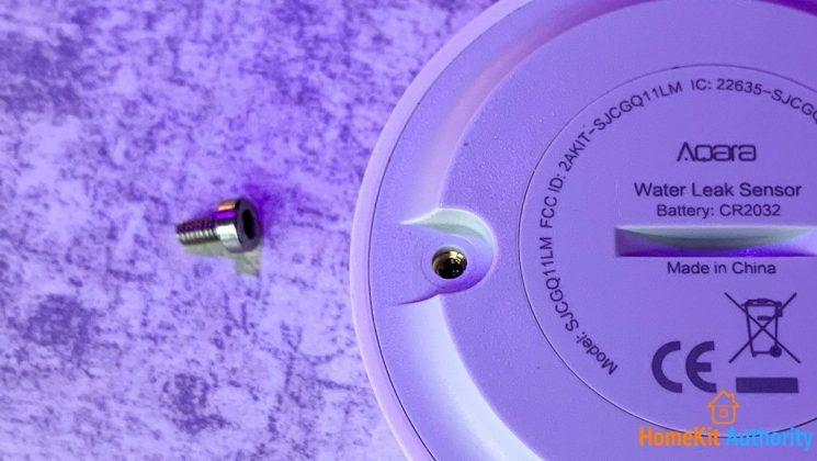 Aqara water leak contact sensor