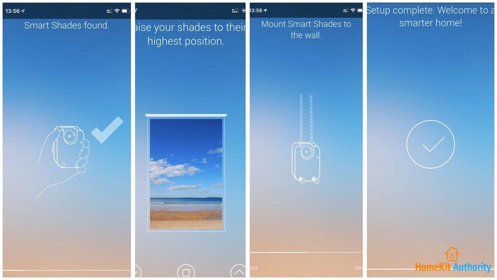 Soma Connect blinds app setup