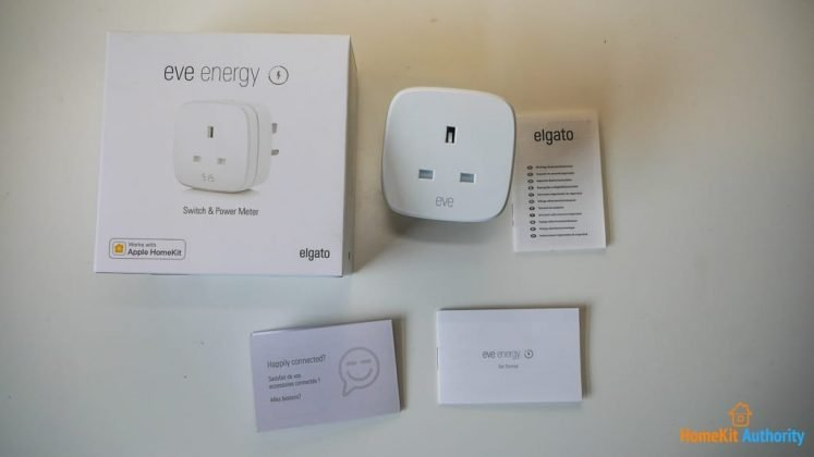 Eve energy smart plug review unboxed