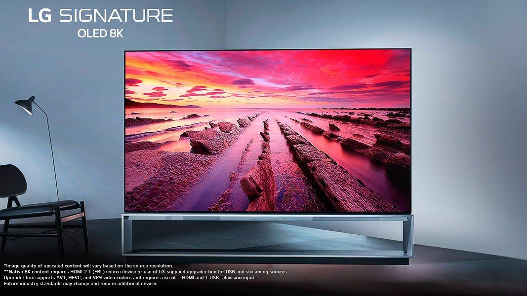 LG 8K TV HomeKit CES 2020