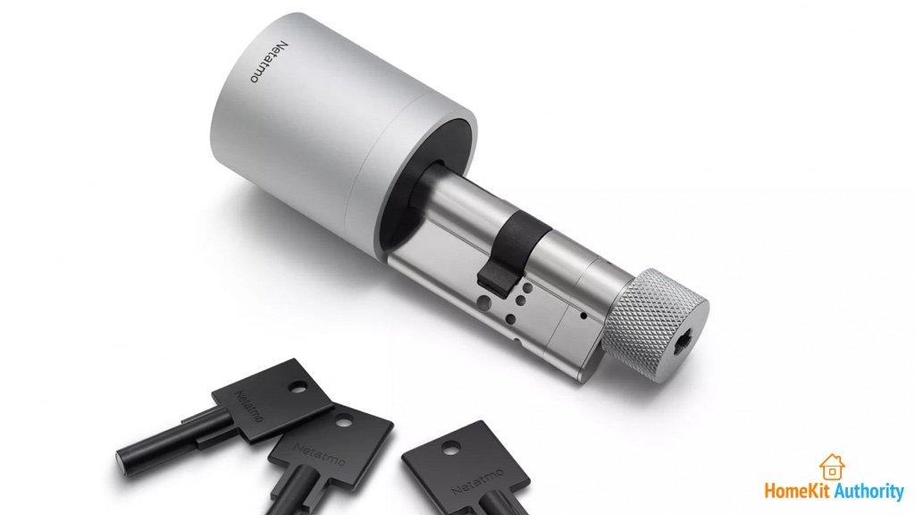 Netatmo smart lock with keys