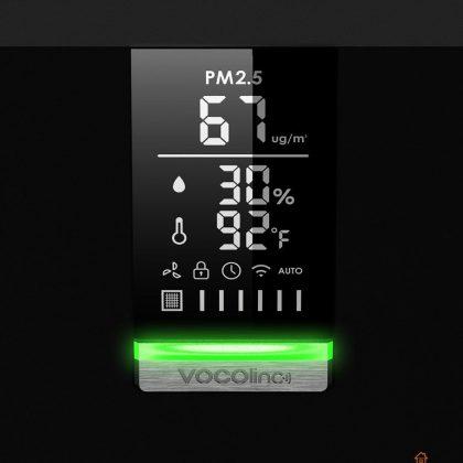 Vocolinc pureflow display