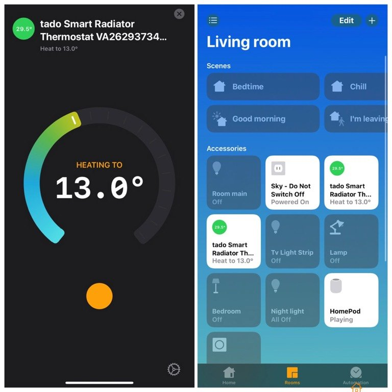 Tado HomeKit support