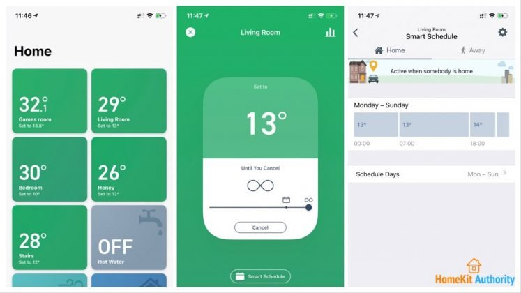 Tado smart room tile