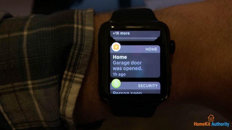 iSmartgate apple watch