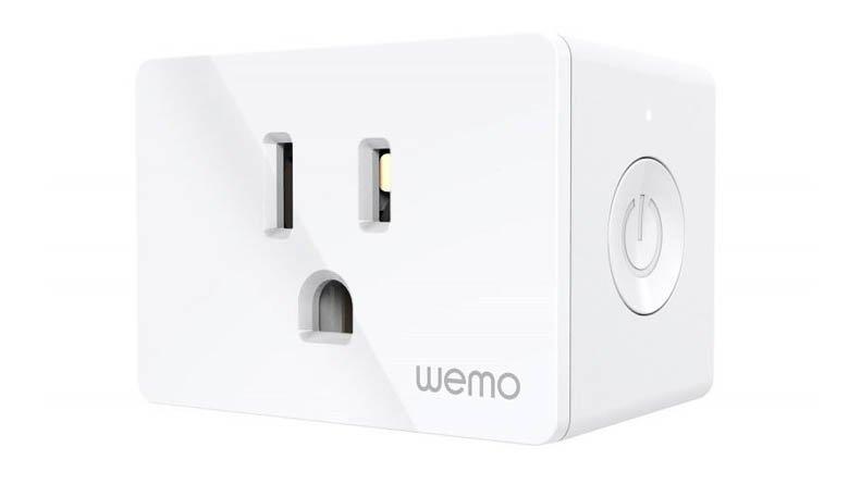 Wemo smart plug HomeKit