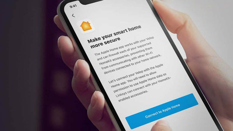 Linksys Velop routers compatible with HomeKit