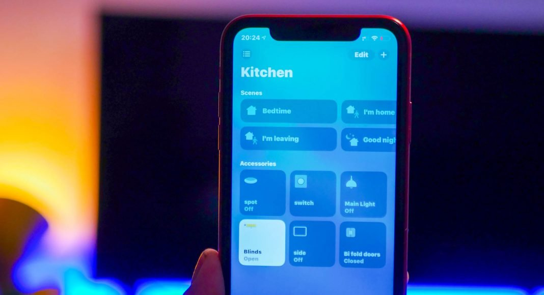 How to create a scene in the Home app for HomeKit