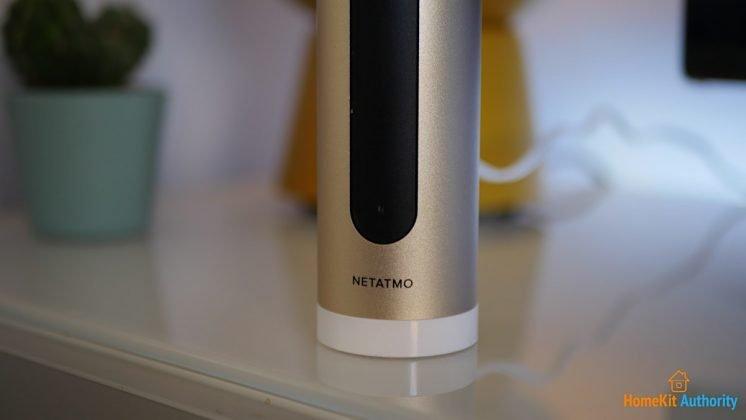 Netatmo indoor camera stood up