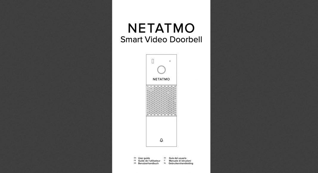 Netatmo Smart Video doorbell manual