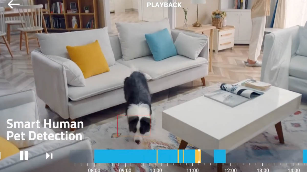 eufy indoor camera motion tracking