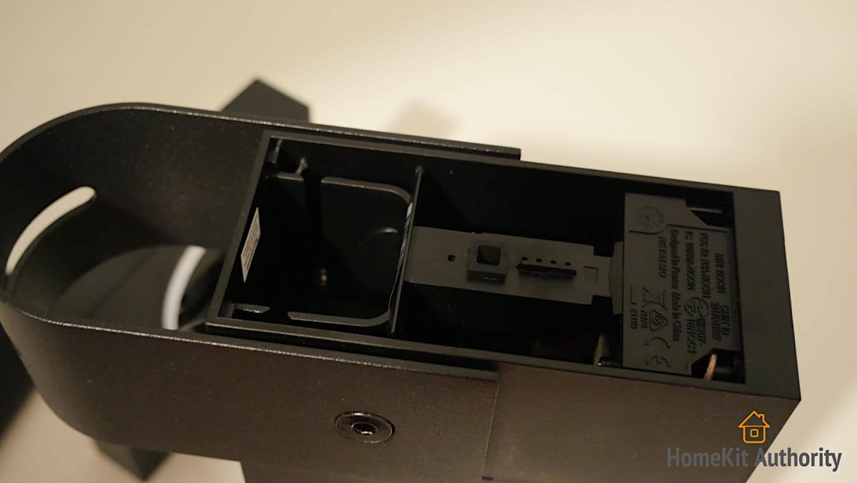 Netatmo smart outdoor camera siren sd card