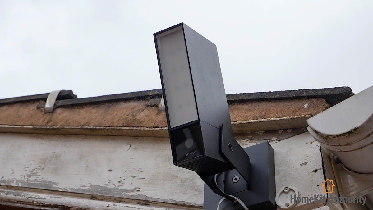 netatmo smart outdoor camera siren outside