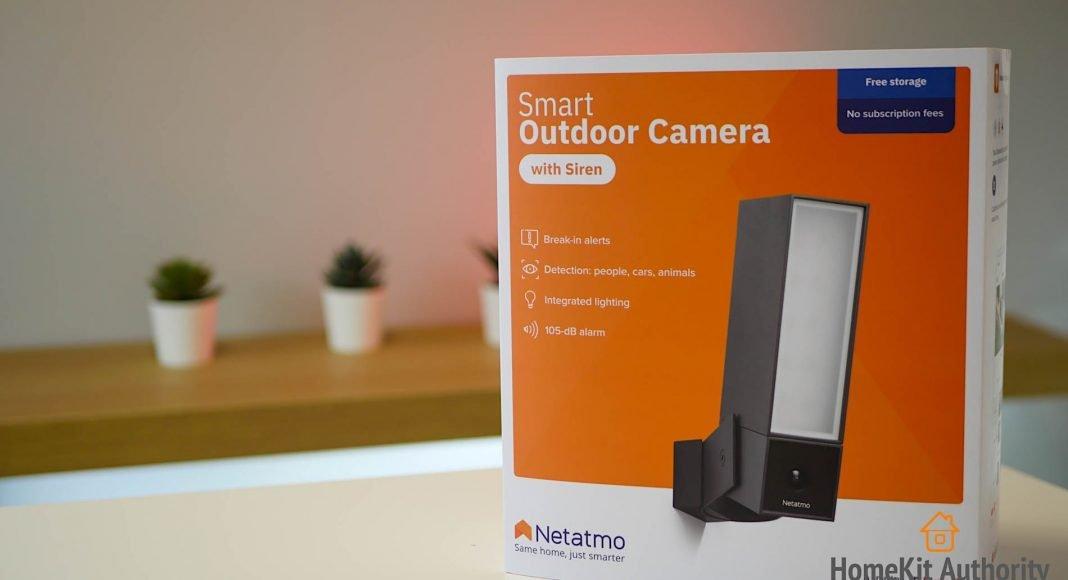 netatmo smart outdoor camera siren review
