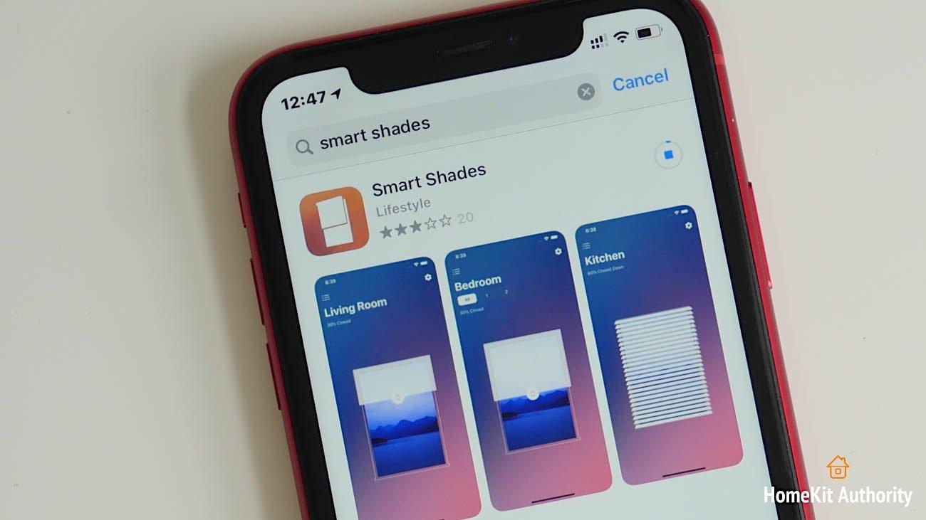 smart shades app
