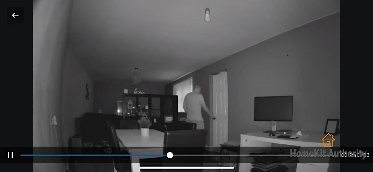 eufy indoor cam night vision