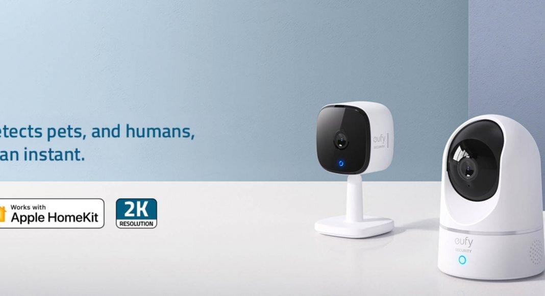 eufy indoor camera HomeKit support
