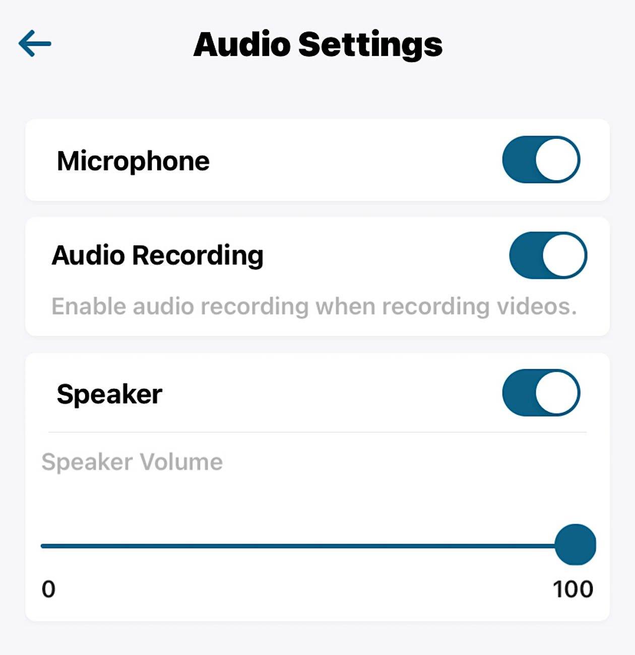 eufy indoor camera audio