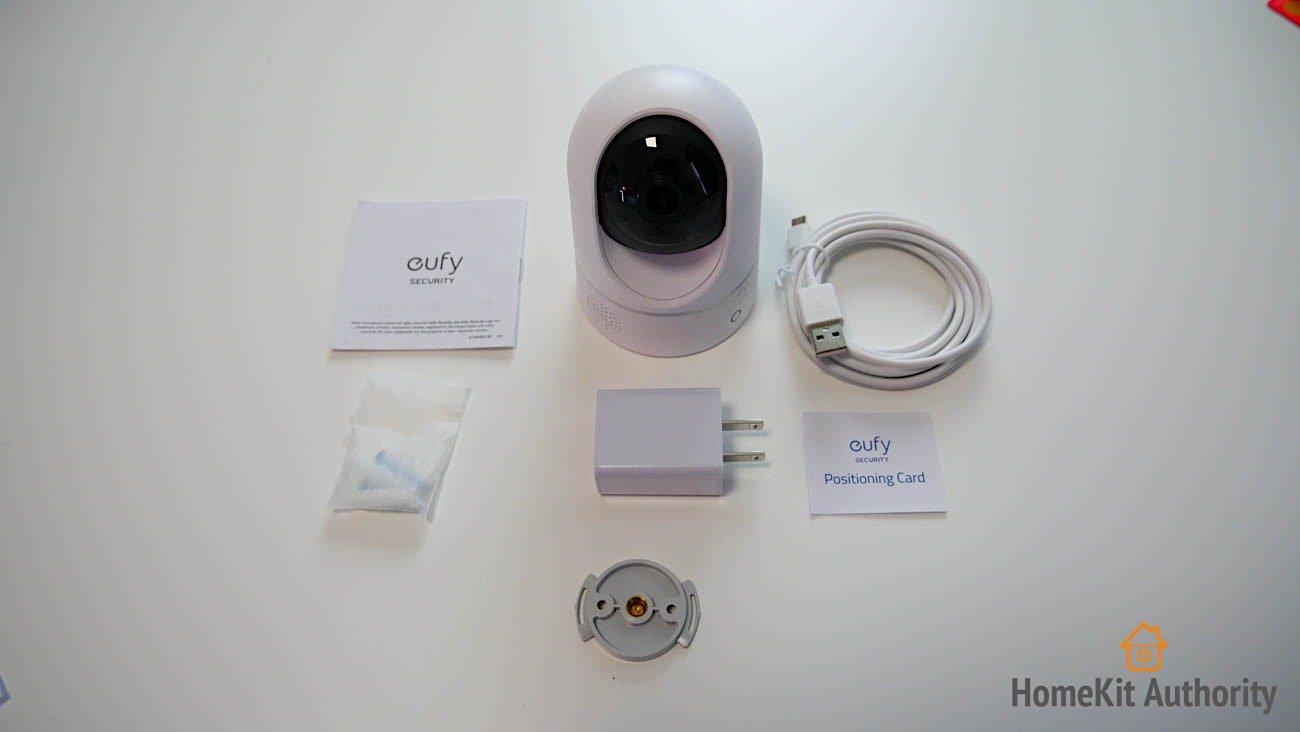 eufy indoor camera contents