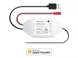 Meross garage door opener HomeKit