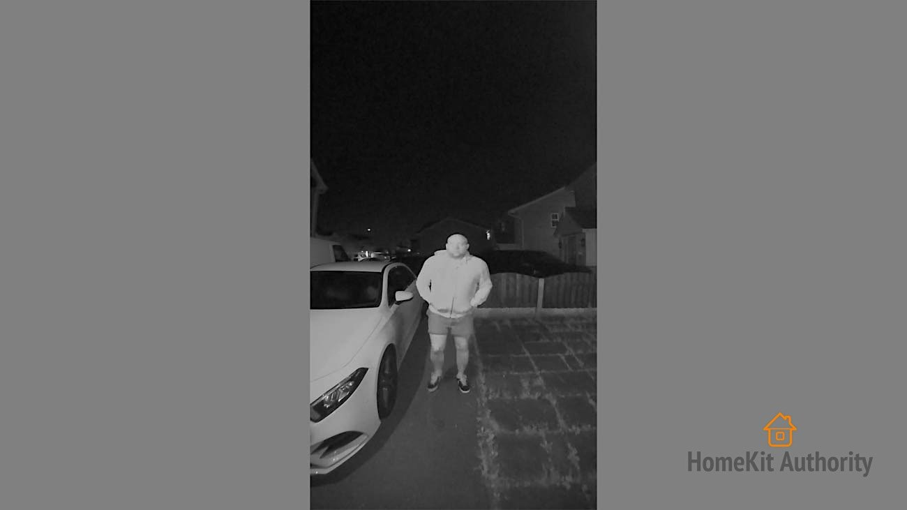 Netatmo Smart Doorbell night vision
