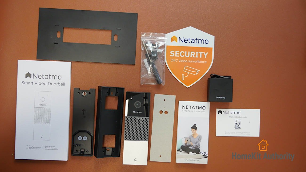 Netatmo Smart Doorbell contents