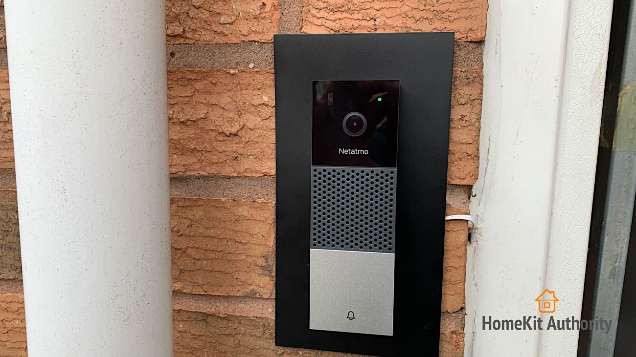 Netatmo Smart Doorbell design