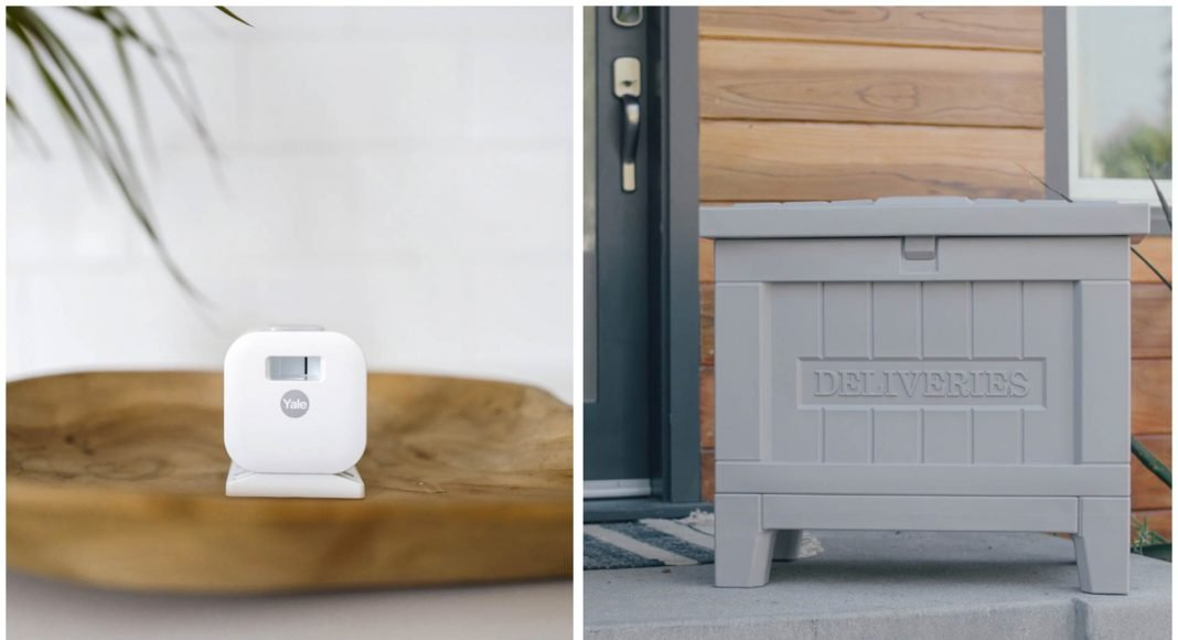 Yale smart storage box and cabinet lock HomeKit