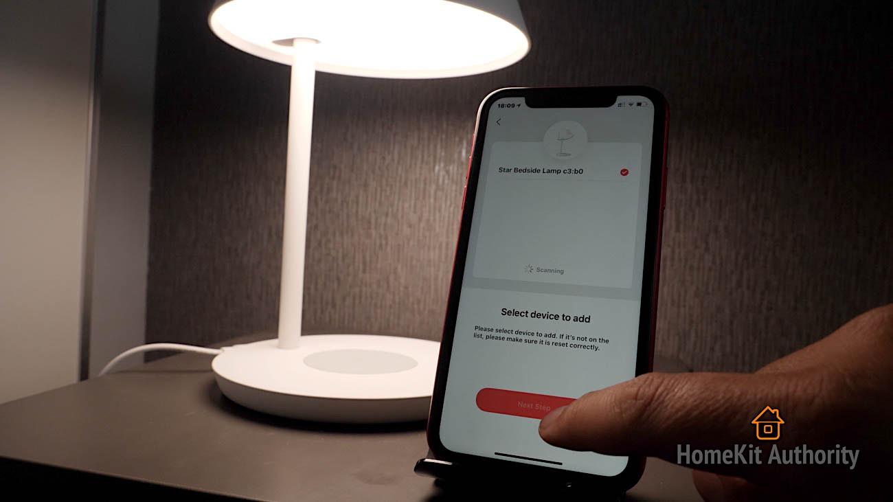 Yeelight Staria Bedside lamp Pro setup