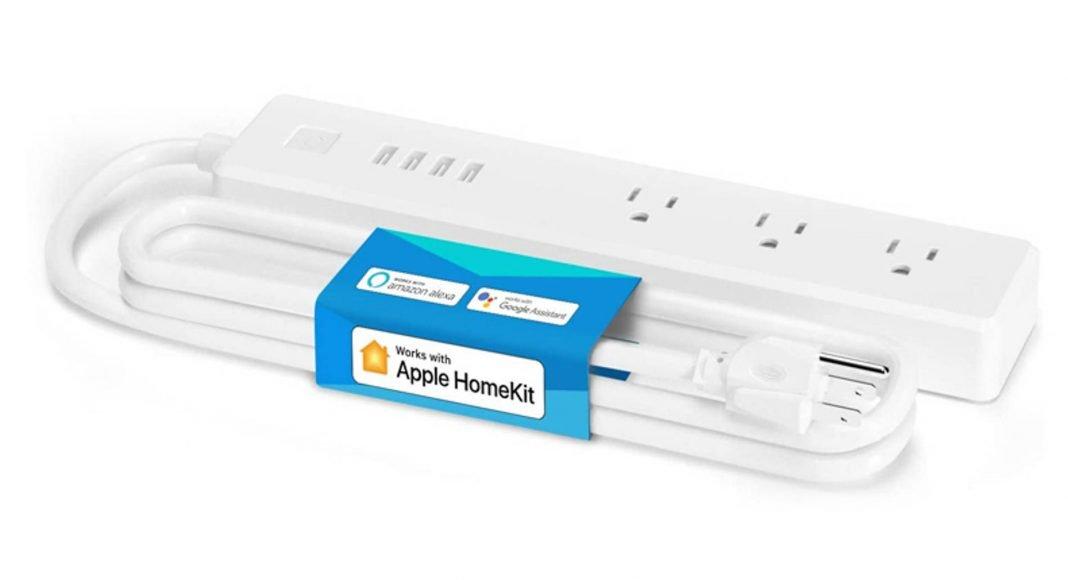 Meross smart power strip HomeKit