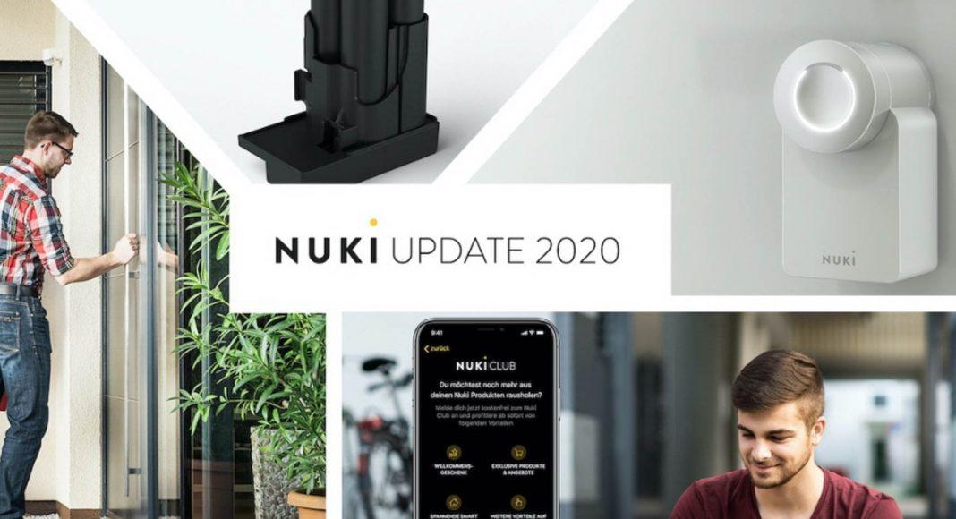 Nuki white lock and power pack