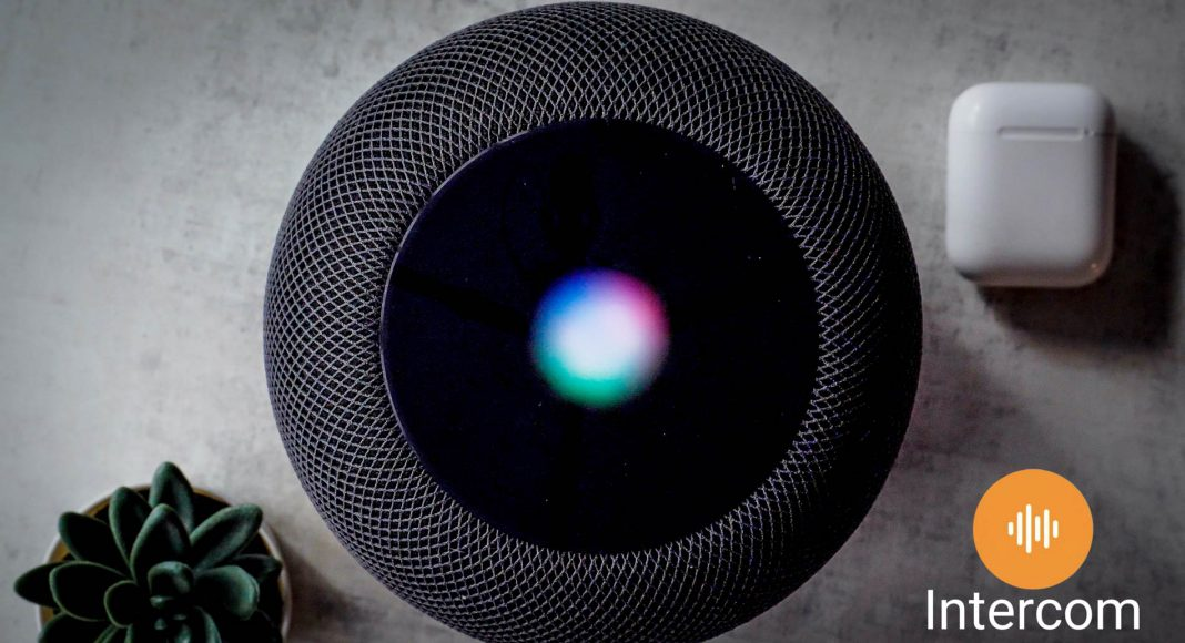 Apple intercom HomePod Iphone walkthrough