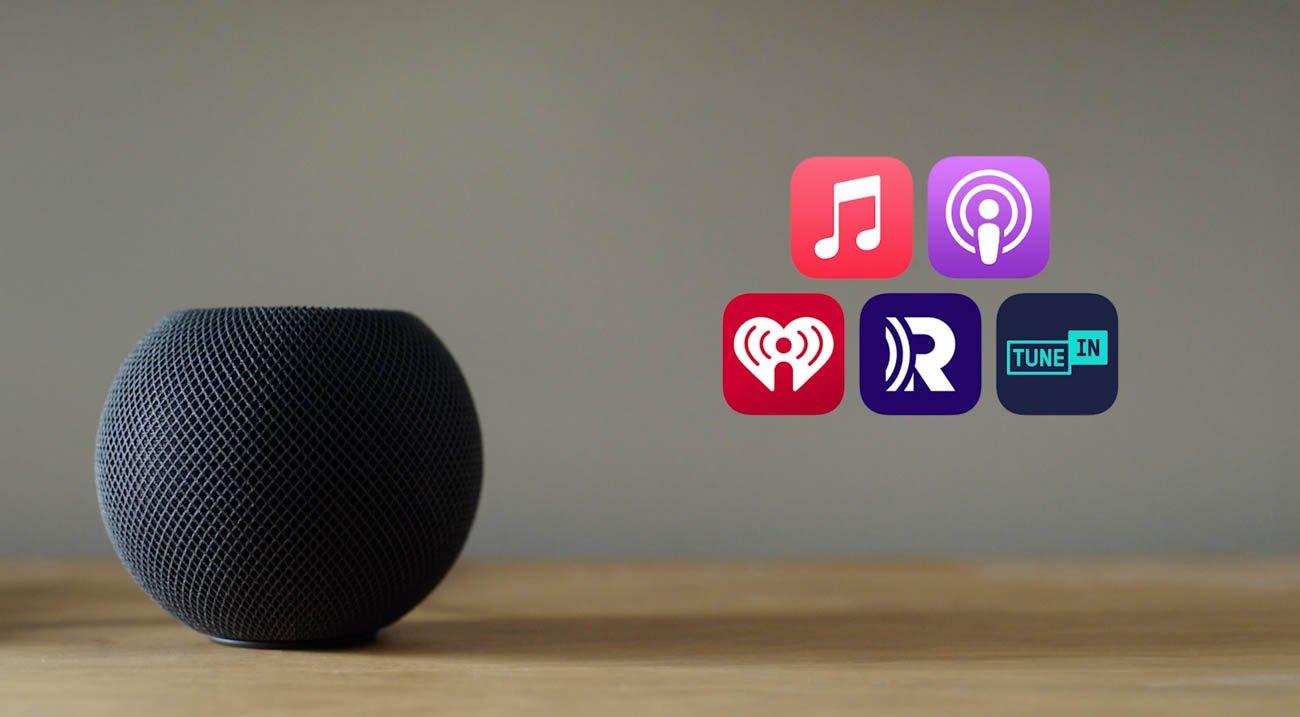 Apple HomePod Mini music