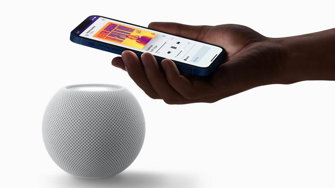Apple HomePod Mini U1 ultraband handoff