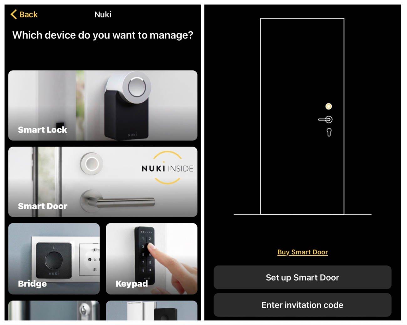 Nuki smart door HomeKit