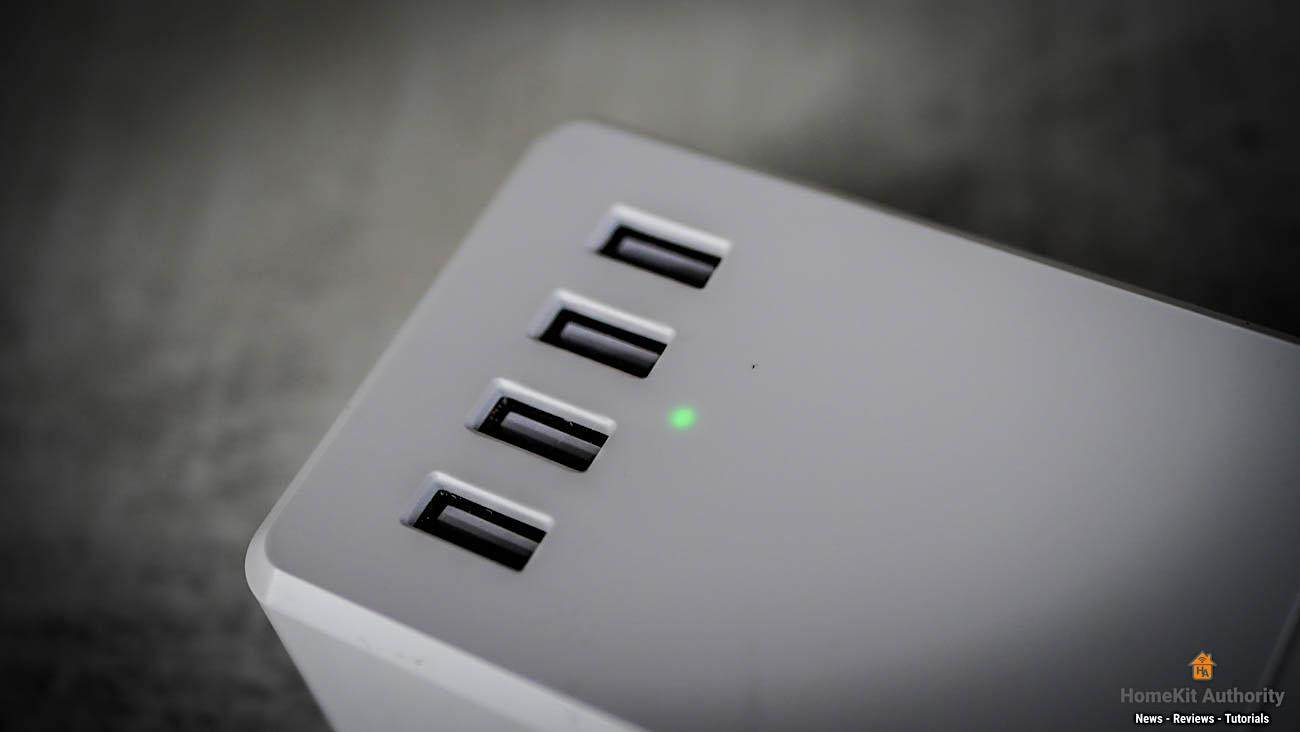 Meross smart power strip USB HomeKit support
