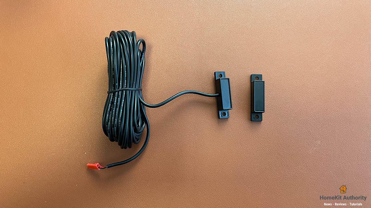 Meross Garage door opener sensor wire