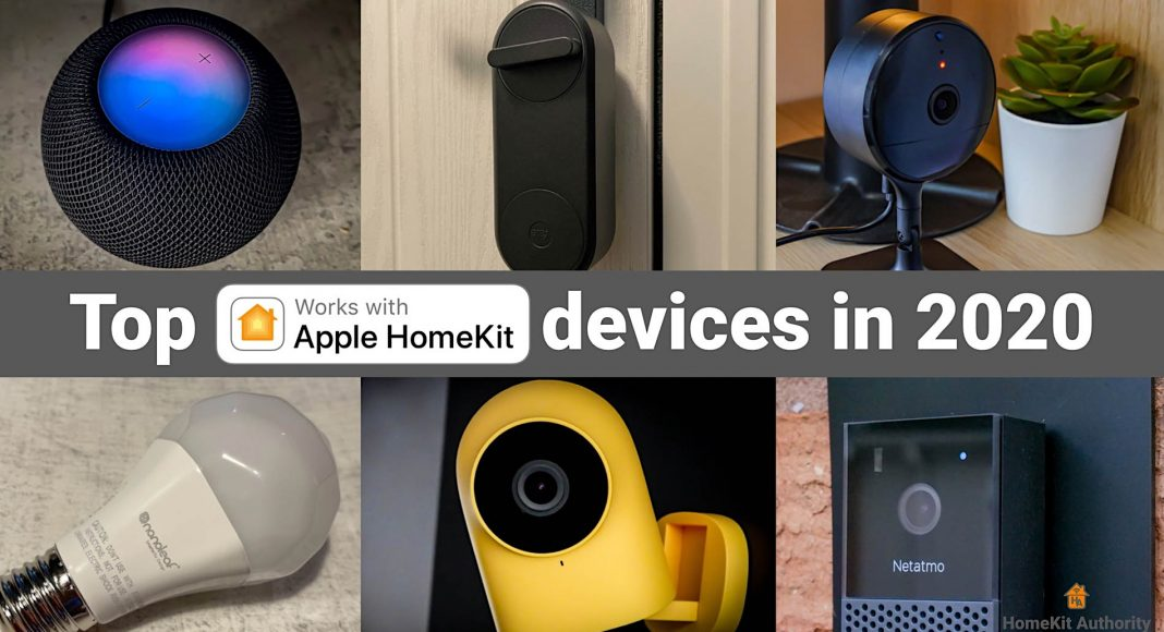 Top HomeKit devices in 2020