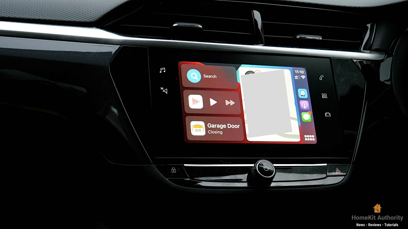 Meross Garage door opener carplay with HomeKit