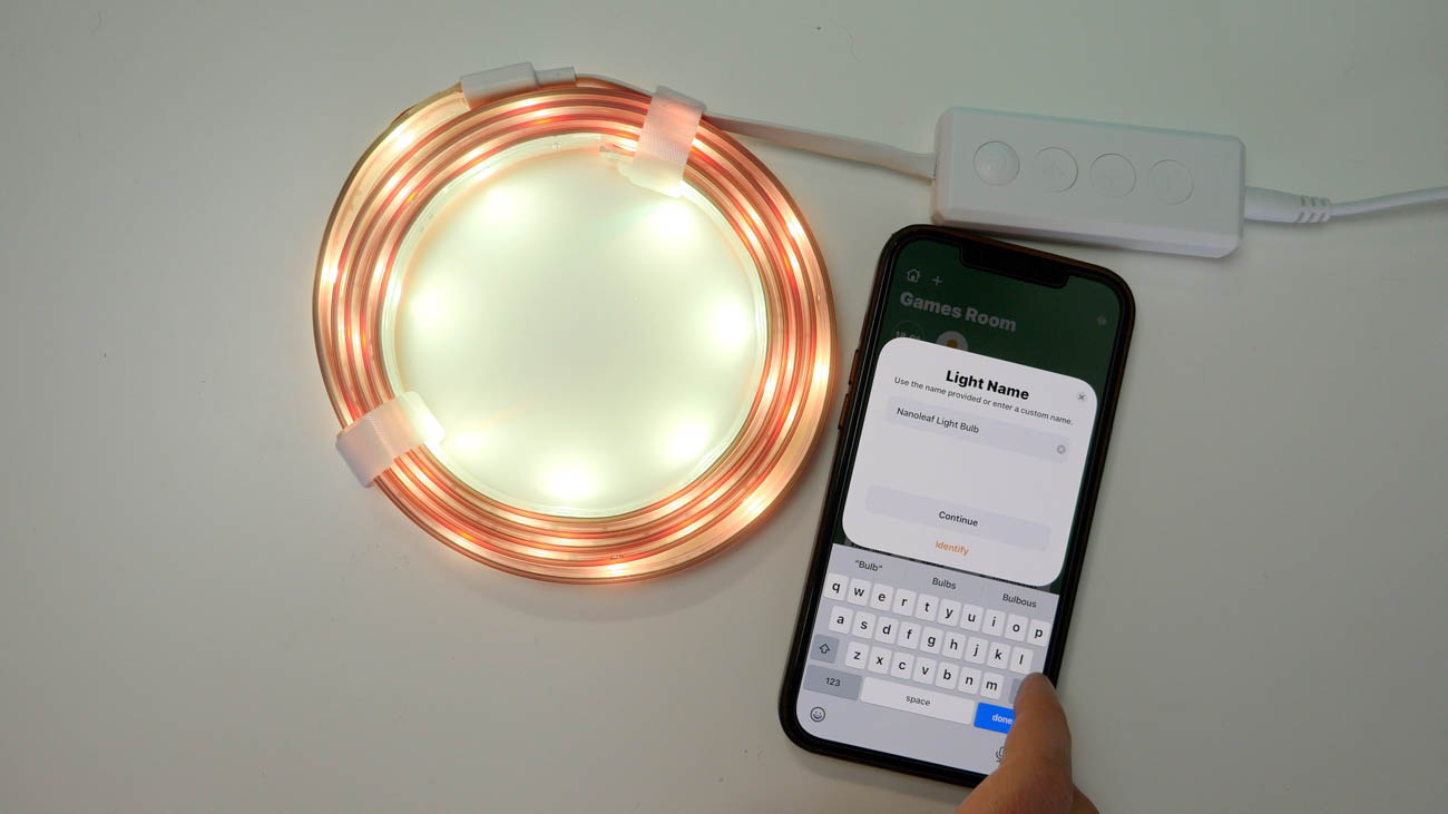Nanoleaf Essentials light strip HomeKit setup