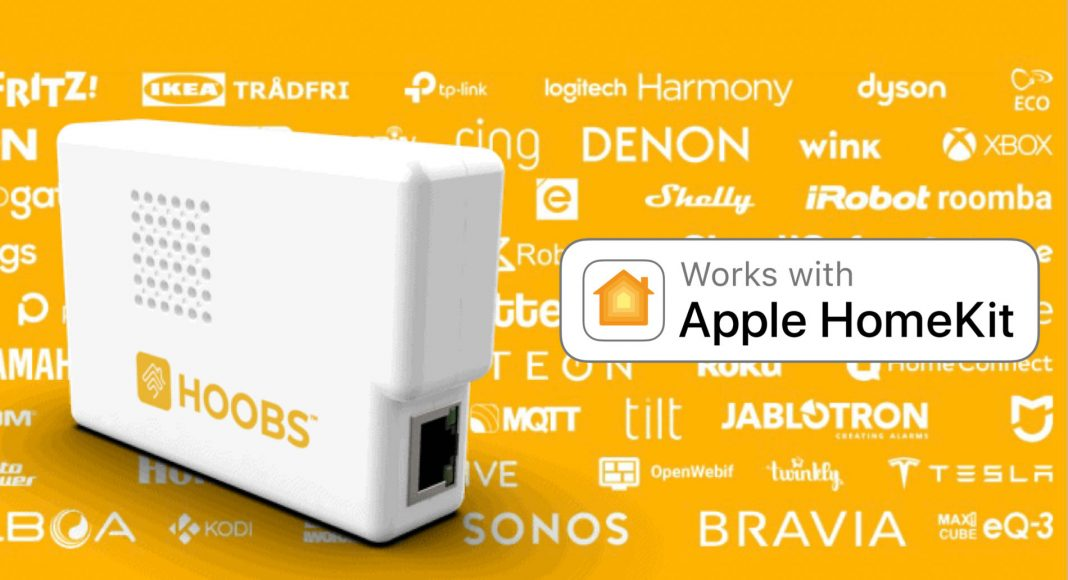 Make almost any smart home device work with homekit hoobs