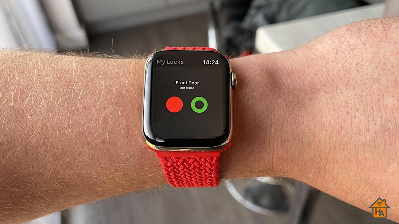 Yale Linus Apple Watch app