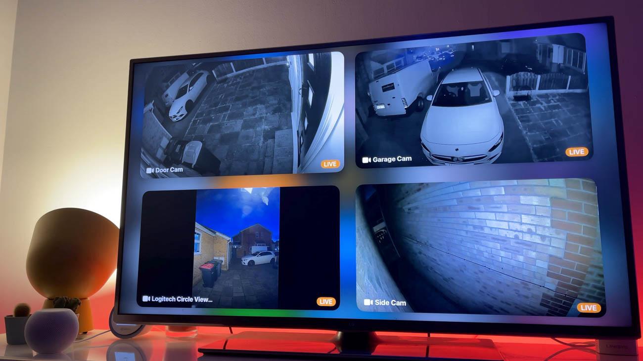 Apple TV multi cam HomeKit